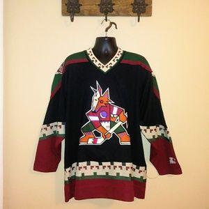 Vintage Starter Phoenix Coyotes NHL Hockey Jersey